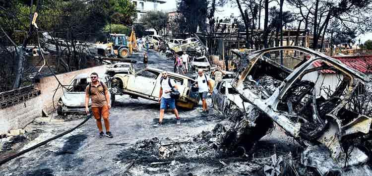 Σαν σήμερα, 23 Ιουλίου 2018: Η πυρκαγιά στο Μάτι αφήνει πίσω της 102 νεκρούς