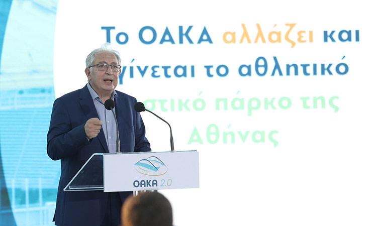 Θ. Αμπατζόγλου: Ο Δήμος Αμαρουσίου θα σταθεί αρωγός στην αναζωογόνηση του ΟΑΚΑ