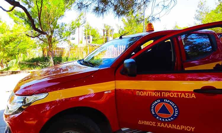 Αυξημένα μέτρα πυροπροστασίας από τον Δήμο Χαλανδρίου