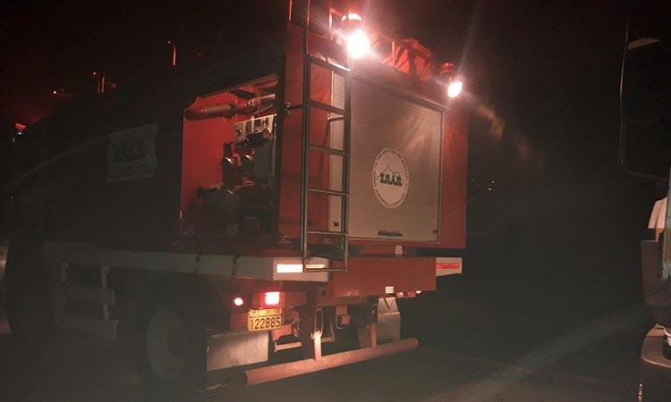 Άμεση και αποτελεσματική επέμβαση του ΣΠΑΠ στη πυρκαγιά που ξέσπασε στην Ανθούσα