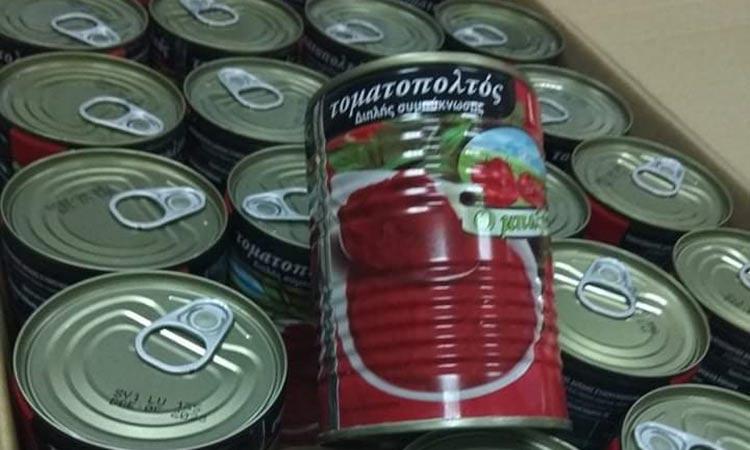 Διανομή τροφίμων σε 133 οικογένειες σε Λυκόβρυση και Πεύκη