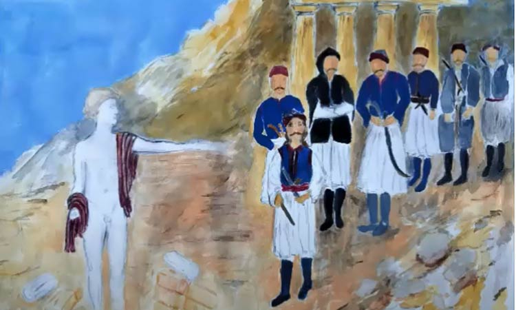 Το βίντεο από την ομαδική έκθεση ζωγραφικής του Συλλόγου «Αργώ» για τα 200 χρόνια από την Ελληνική Επανάσταση