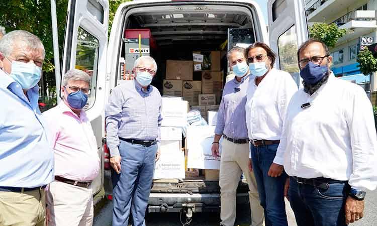 Η ΕΔΑ Αττικής ανταποκρίθηκε στο κάλεσμα του Δήμου Αμαρουσίου για αποστολή βοήθειας στις πυρόπληκτες περιοχές