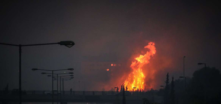 Η Νίκη των Πολιτών συγκεντρώνει είδη άμεσης ανάγκης για τους πυρόπληκτους της Βαρυμπόμπης