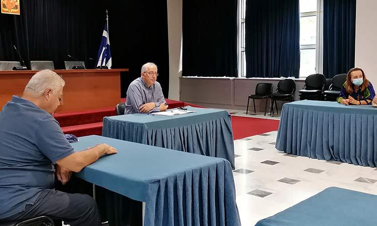Συνάντηση του δημάρχου Αμαρουσίου με τον Περιβαλλοντικό Φιλοζωϊκό Πολιτιστικό Σύλλογο