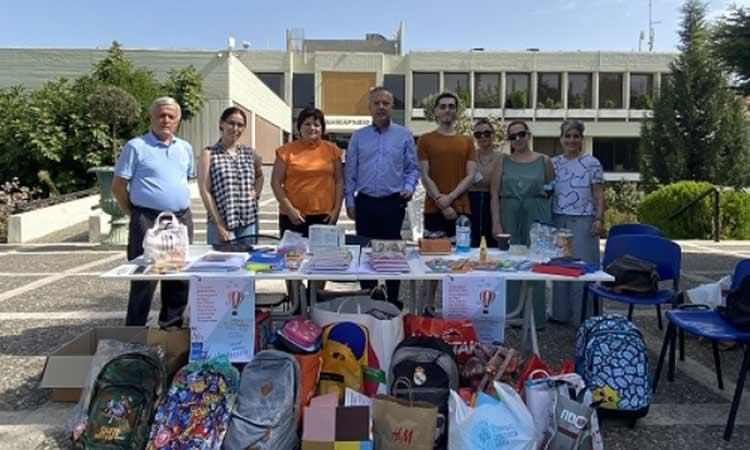 Οι κάτοικοι του Δήμου Παπάγου-Χολαργού στήριξαν τη δράση συγκέντρωσης σχολικών ειδών