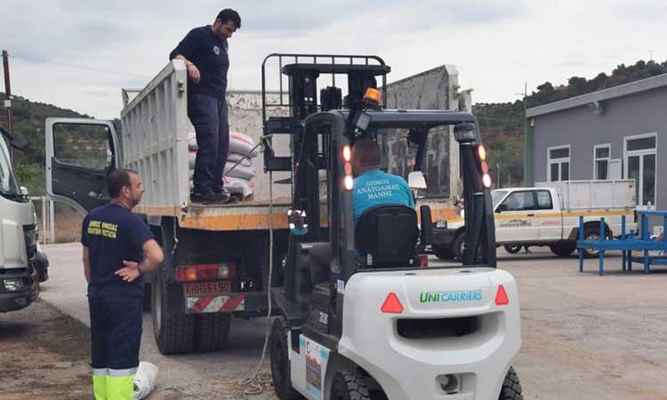 Ο Δήμος Κηφισιάς ενισχύει την Ομάδα Εθελοντών Δασοπυροσβεστών Διασωστών
