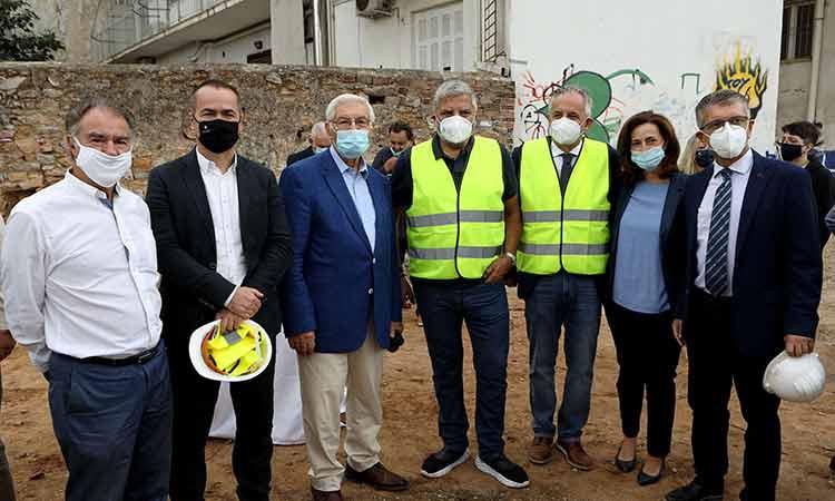 Β. Γιαννακόπουλος: Η Αγία Παρασκευή αποκτά το δικό της «σπίτι» – Σειρά έχει η υπογειοποίηση της Λ. Μεσογείων