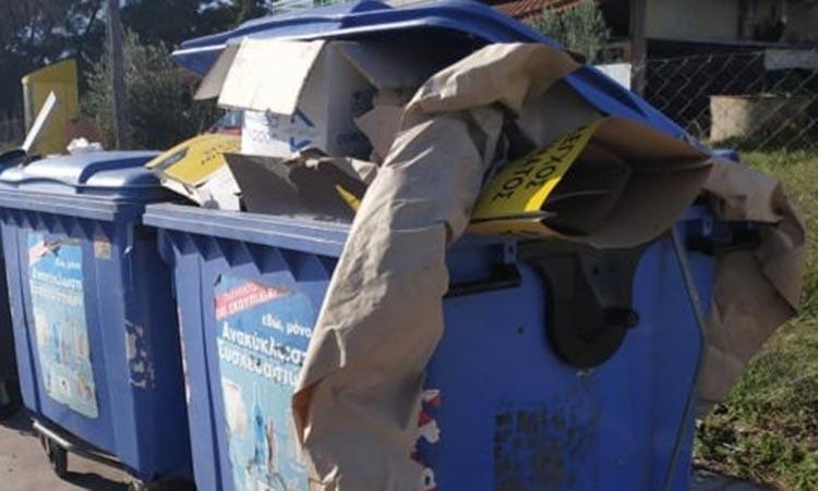 Επιστολή – προειδοποίηση της δημάρχου Πεντέλης σε mini markets για την καλύτερη διαχείριση των χάρτινων απορριμμάτων τους