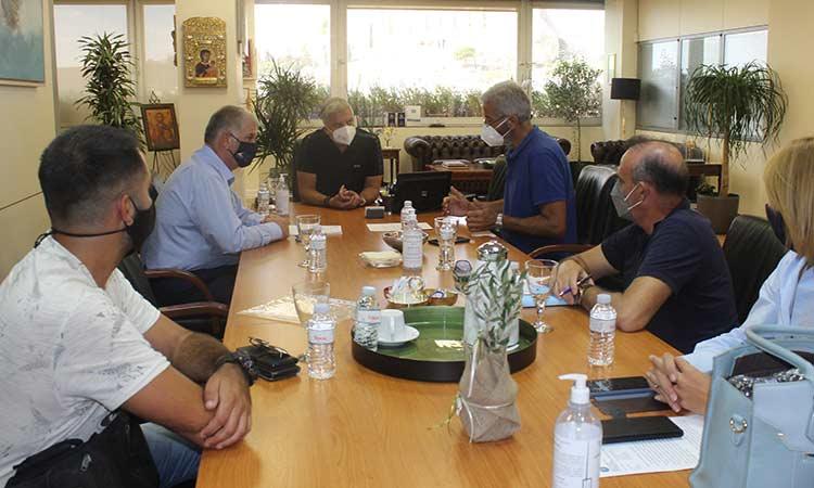 Συνάντηση περιφερειάρχη με τους προέδρους ΣΠΑΠ και ΠΕΣΥΔΑΠ για την προστασία των δασών της Αττικής