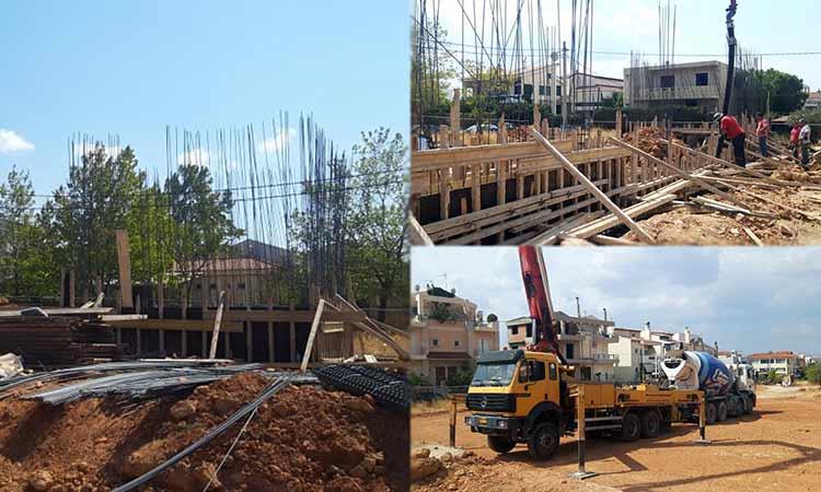 Ξεκίνησαν εκ νέου οι εργασίες κατασκευής του αθλητικού πολυχώρου στο Πάτημα Χαλανδρίου