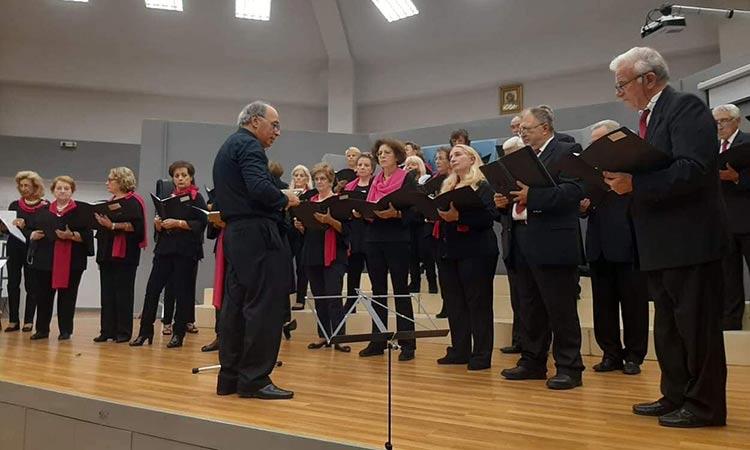 Με τη Χορωδία Επιστημόνων Φιλοθέης παρουσιάστηκε το 19ο Χορωδιακό Φεστιβάλ του Δήμου