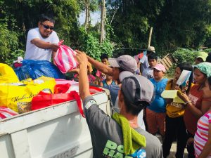 UAP Gathers Donations to Aid Taal Eruption Evacuees