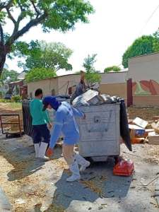 Waste Management Workers Brave COVID-19 Threat