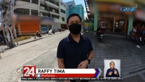 GMA 7 news reporter walks from EDSA Cubao to Makati