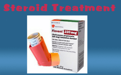 Swallowed Corticosteroids Treatment