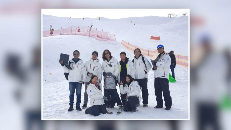 펑창 동계 올림픽 시즌에 스키 타는 로봇을 만든 한재권 교수의 로봇개발팀