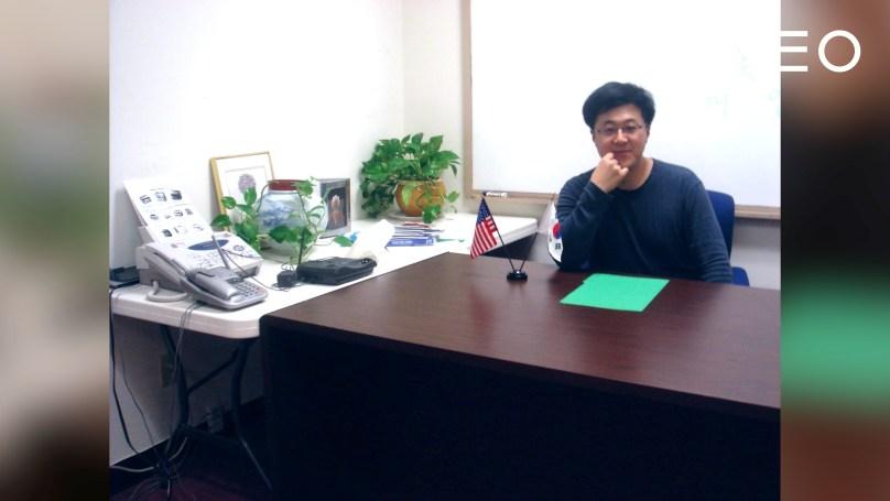 미국에 처음 갔을 때의 슈피겐 김대영 대표