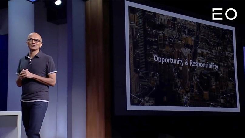 마이크로소프트의 3대 CEO 사티아 나델라