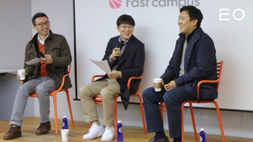 (왼쪽부터) 패스트트랙아시아를 설립한 노정석, 박지웅, 신현성