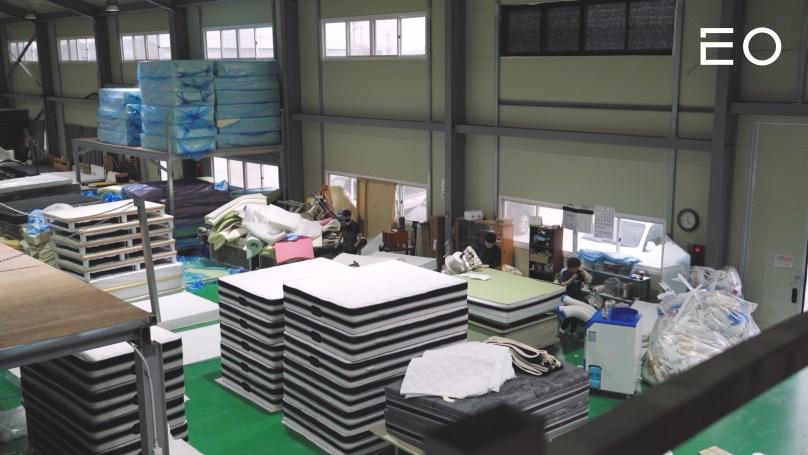 군산 소재의 황토코리아협동조합 공장
