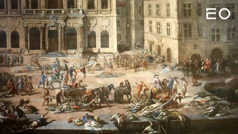 14세기 유럽을 휩쓴 흑사병