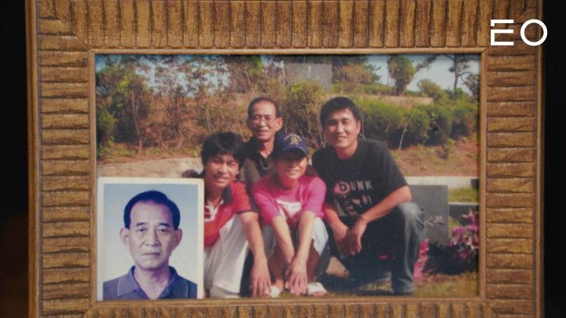 만화 작가 김성모와 그의 가족들