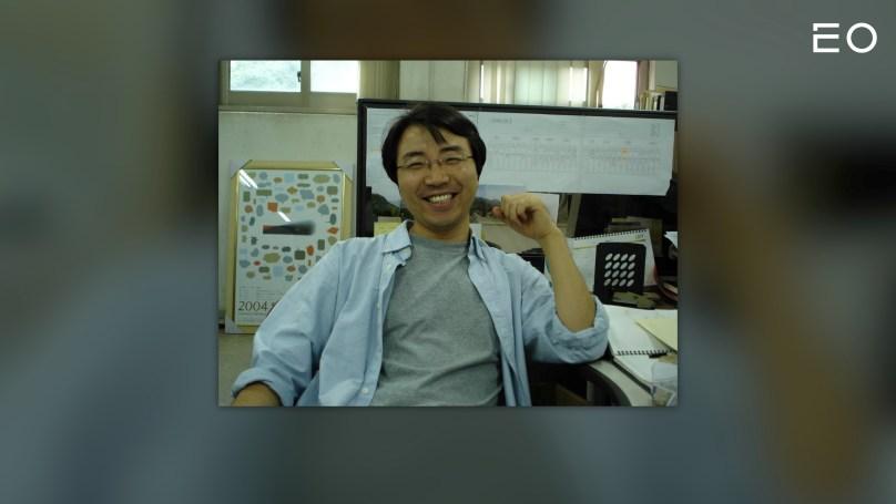 청년 시절의 헤이스타즈 송진주 대표