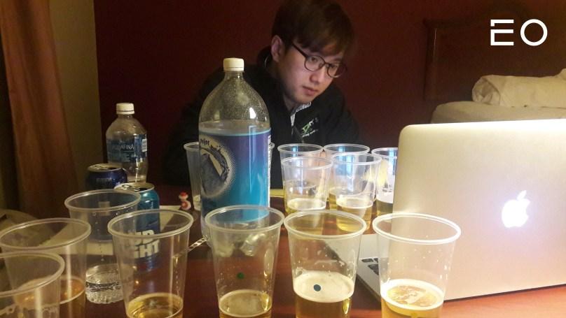 맥주 연구에 몰두 중인 더 쎄를라잇브루잉 전동근 대표
