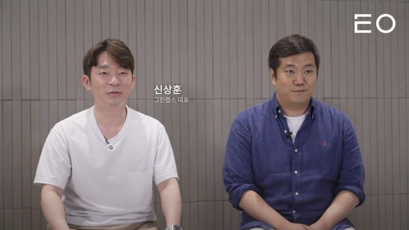 (왼쪽부터) 그린랩스 신상훈 대표, 루닛 박승균 공동창업자