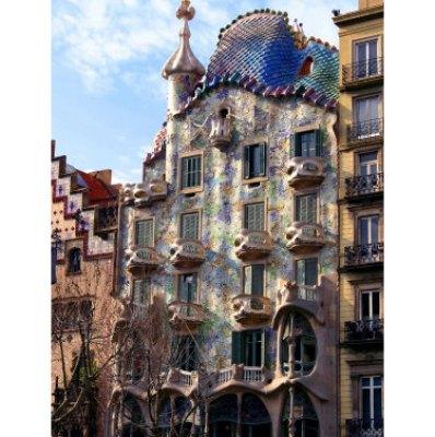 Casa Batllo in Barcelona by Vincent Abbey