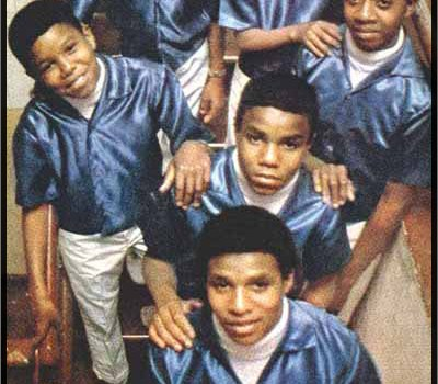 The Jackson Five: Dressed in Blue...
