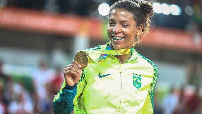Rafaela Silva e a primeira medalha de ouro!