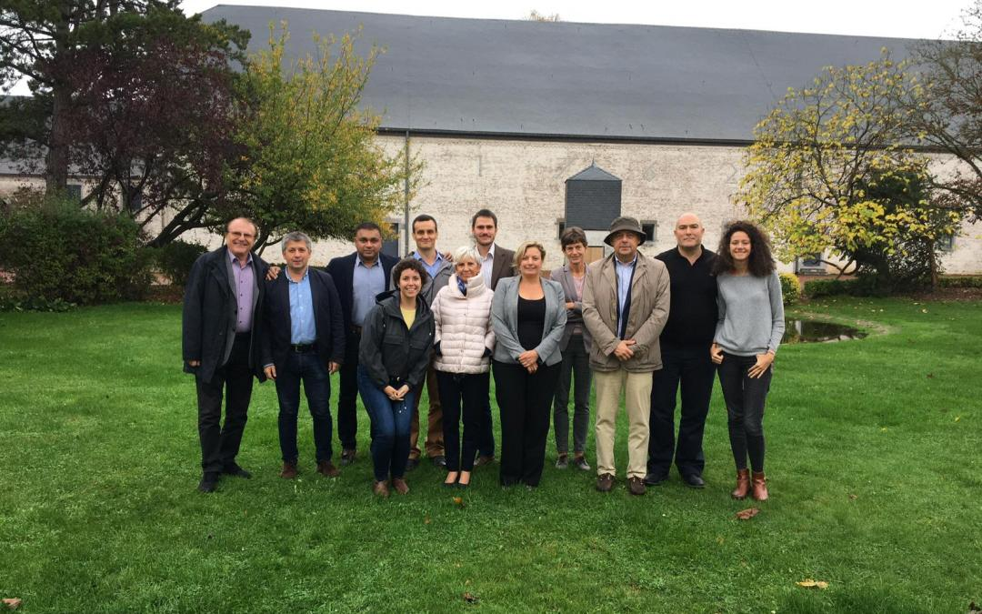 Second EOHUB project meeting in Gembloux