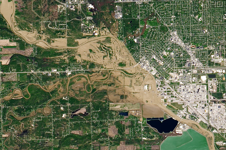 Muddy Flooding in Michigan