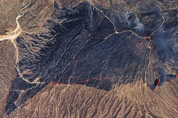 Bush Fire Scorches Lands Near Phoenix
