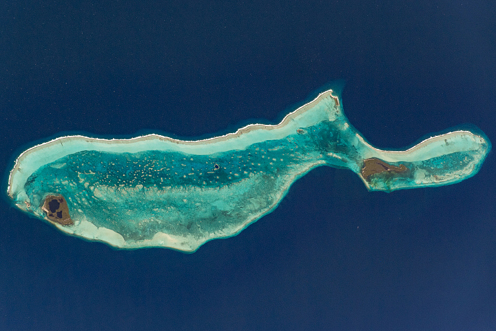 Lighthouse Reef and the Great Blue Hole