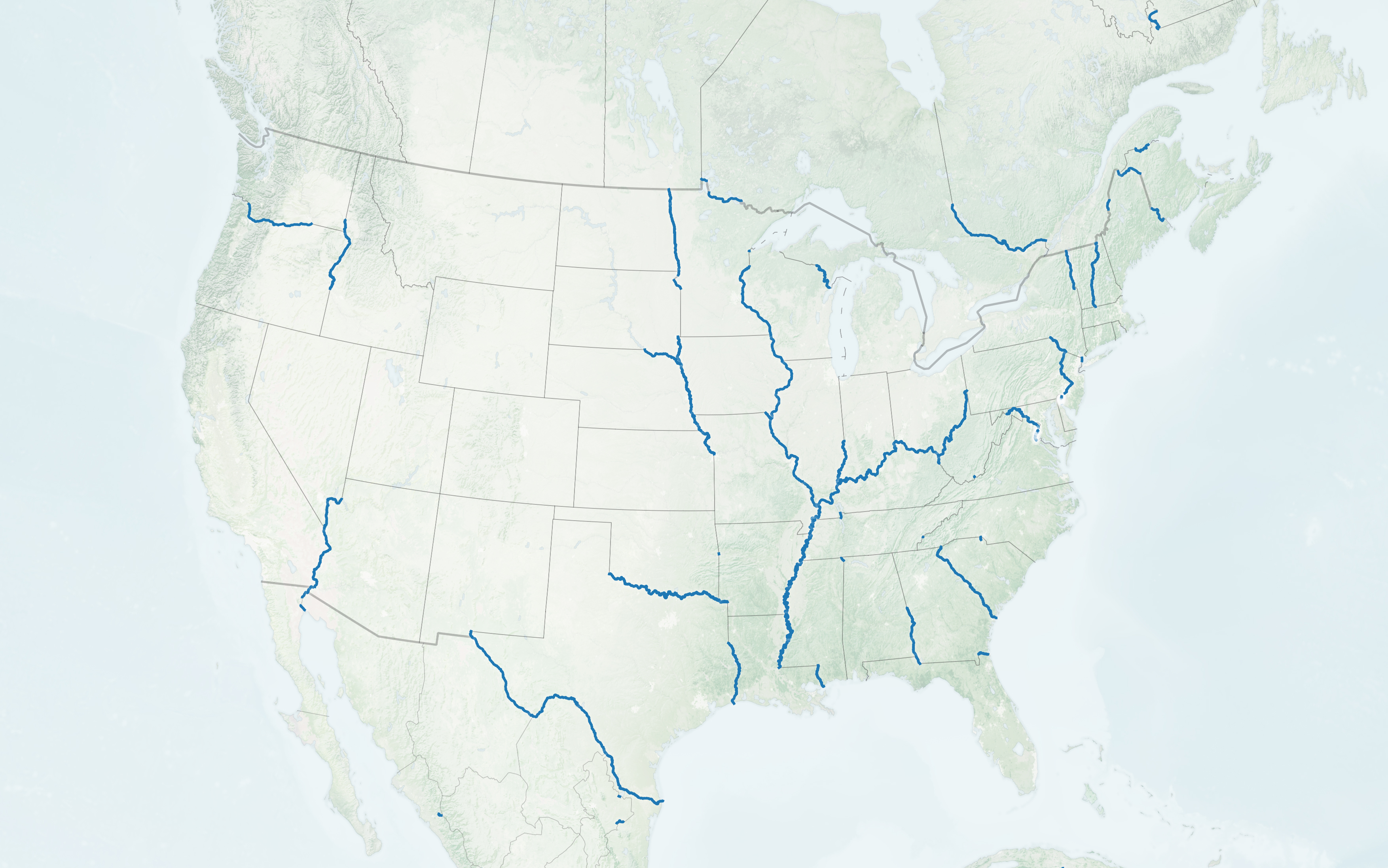 It's free to use for any purpose. How Rivers Shape States