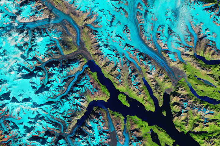 Where Ice Still Flows into Glacier Bay