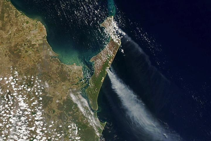 Fraser Island Blazes