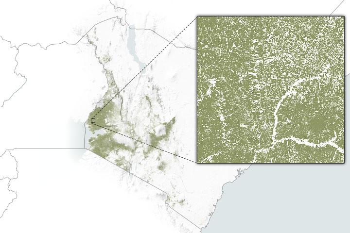 NASA Data Aid Food Security Assessments in Kenya