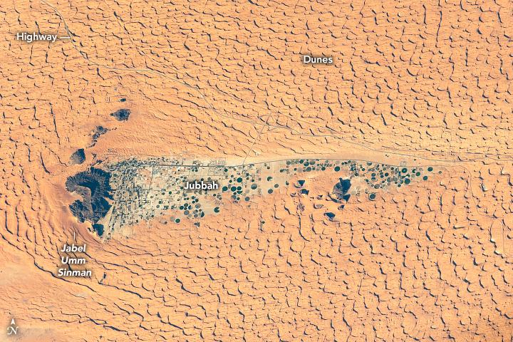 A Long-Ago Lake Amid the Dunes