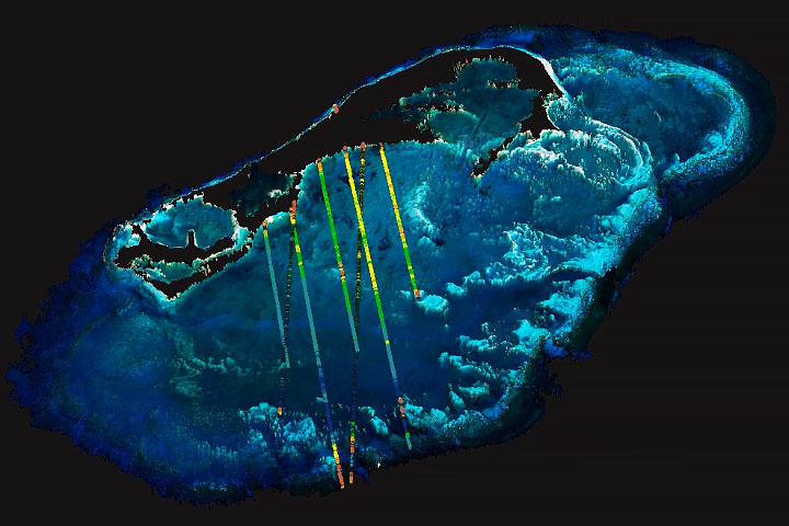 Sounding the Seafloor with Light