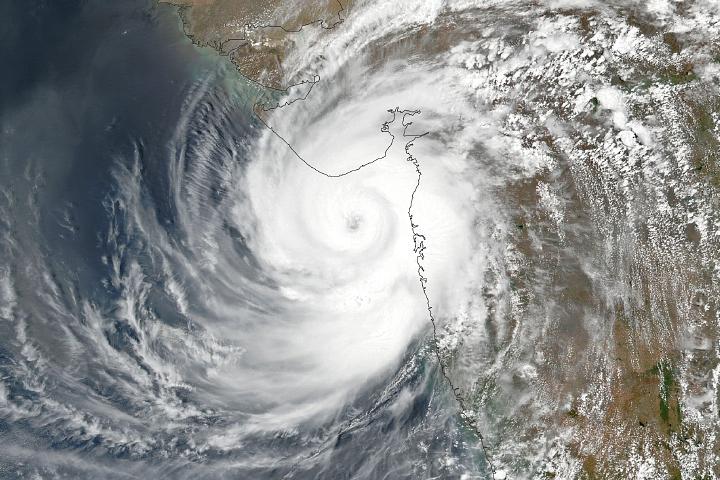Cyclone Tauktae Strikes India