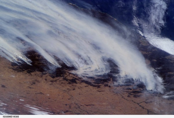NASA Visible Earth: Australian Bushfires