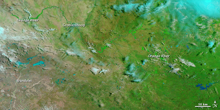 Southern Africa flooding February 2011