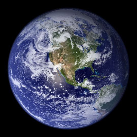 Earth ~ The Big Blue Marble