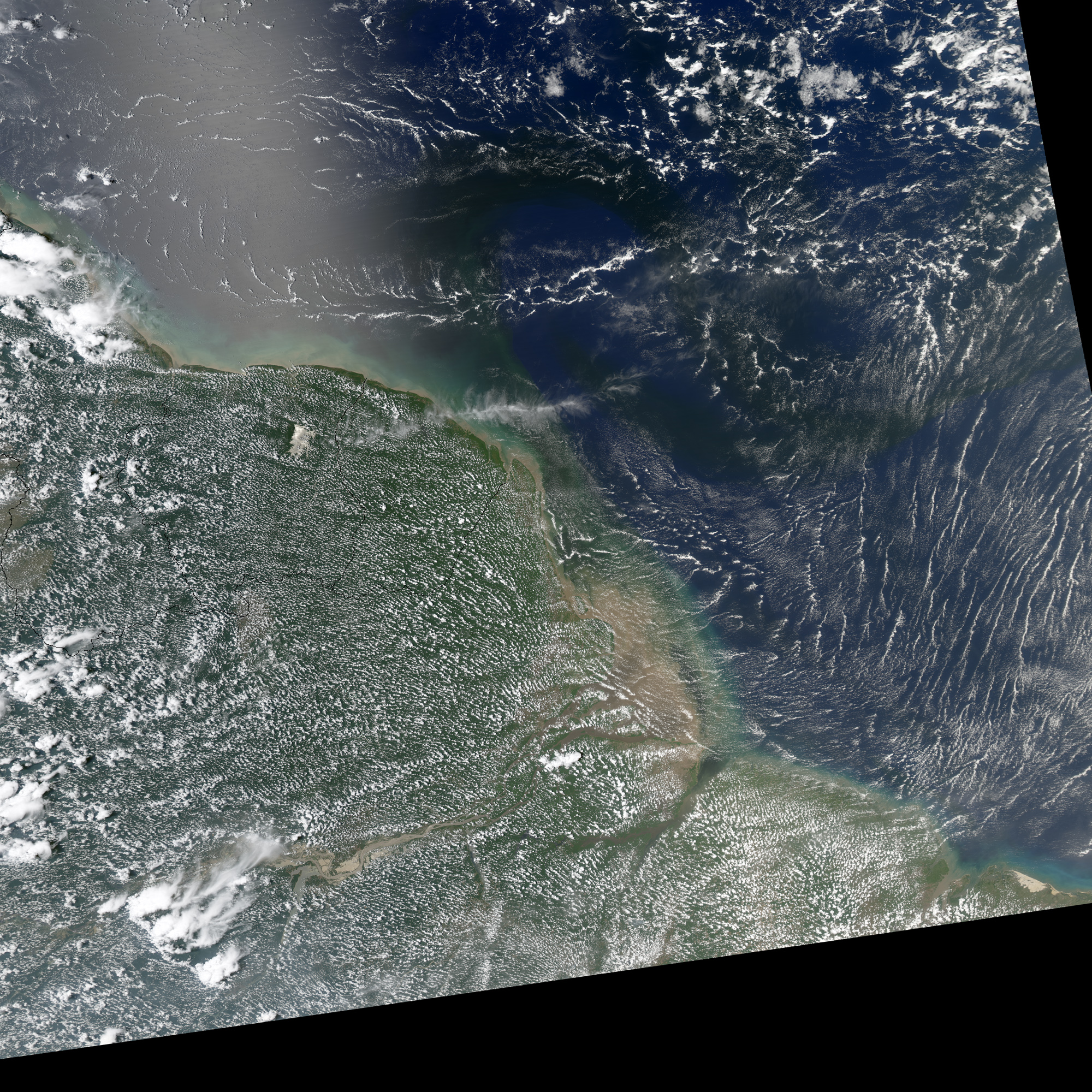 Canal de panamá) is an artificial 82 km (51 mi) waterway in panama that connects the atlantic ocean with the pacific ocean. Amazon River In The Atlantic Ocean