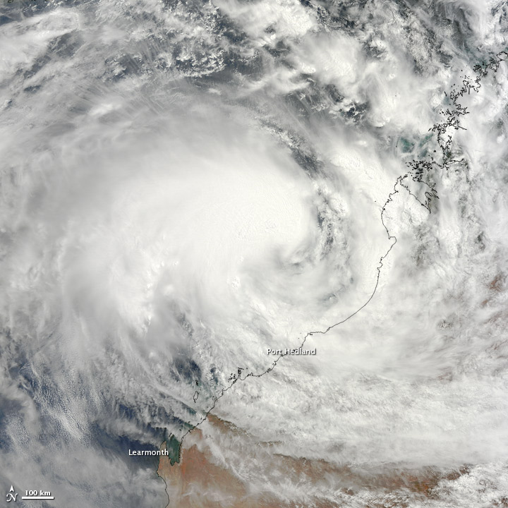 Tropical Cyclone Rusty