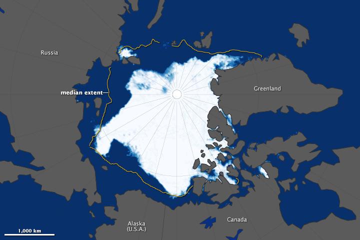 2013 Arctic Sea Ice Minimum